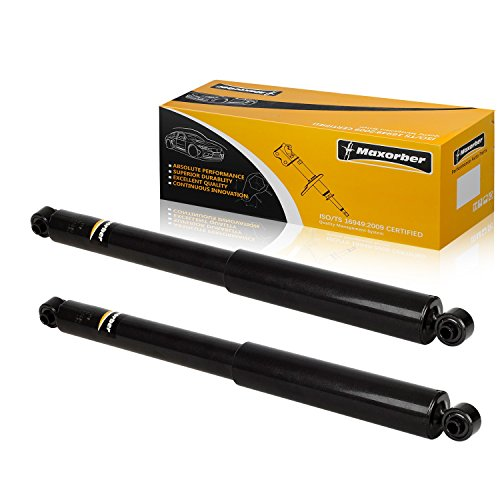 Maxorber Rear Set Shocks Struts Absorber Compatible with Dodge Dakota RWD 1997-2004 Replacement for Mitsubishi Raider 2006-2009 Shock Absorber 37138 344378