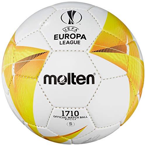 Molten Replika Ball UEFA - Palla da allenamento, colore: Bianco/Arancione/Nero 5