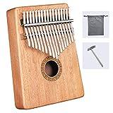 ♪【心地よい音楽】:シンプルで美しいスタンダードなサウンドホールを採用し、ワウ効果に影響を与えません。 背面にもサウンドホールのデザインを採用しており、ワウのサウンドテクニックを簡単に完成させることができ、背面のサウンドホールの位置がより合理的です。 ♪【小型・携帯用】:サムピアノ全体が軽くて小さいので持ち運びにも便利で、場所や時間を問わず音楽の才能を発揮できます。 ♪【美しい外観】:手と機械の組み合わせで、表面は滑らかで、角は丸く、手触りも快適で、装飾も施されており、全体がエレガントで雰囲気が...
