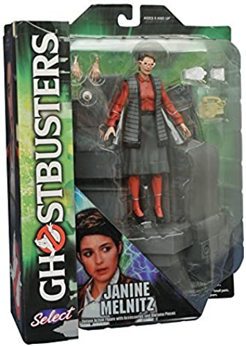 Diamond Select Toys Ghostbusters Select Series 3  Janine Melnitz Action Figure by Ghostbusters