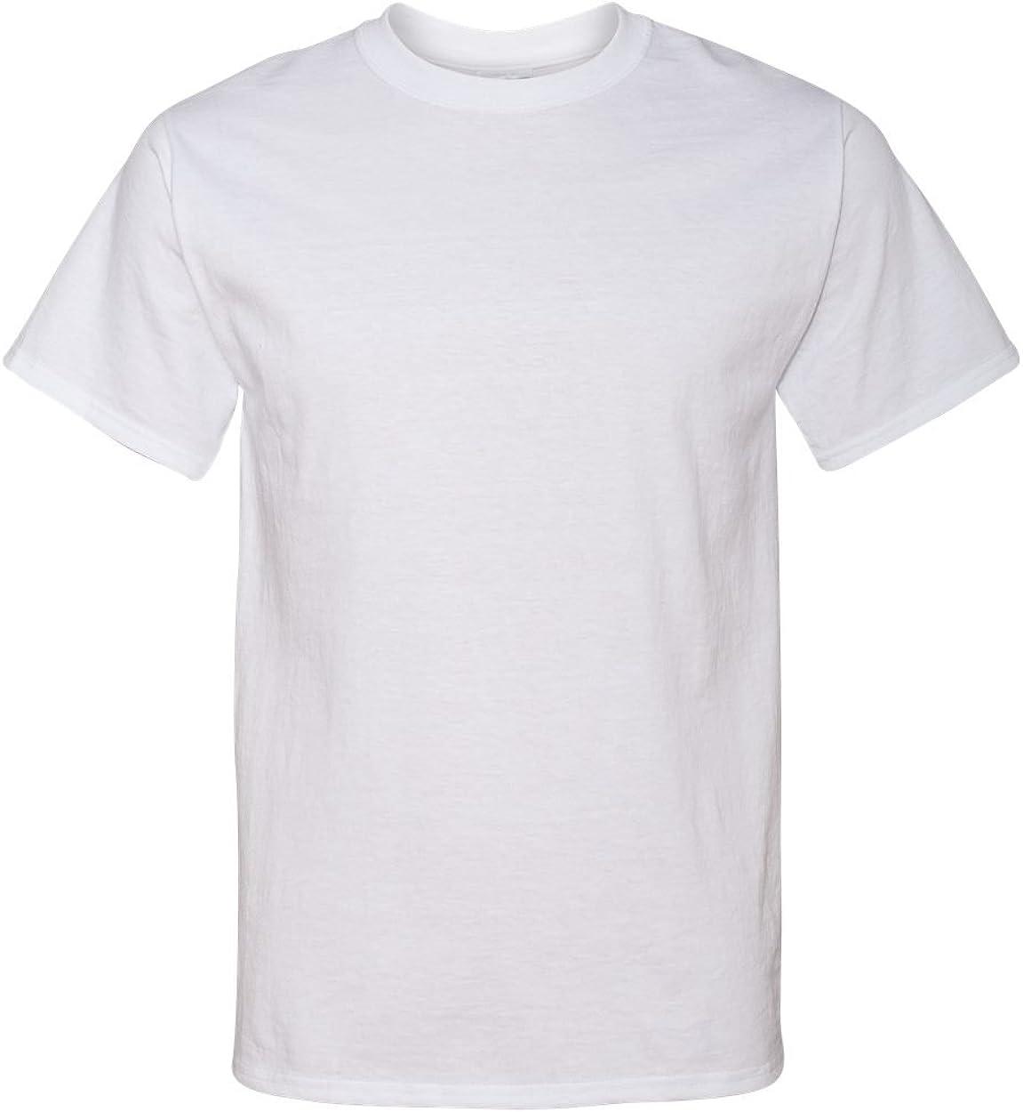 Jerzees Tall 5.6 oz. 50/50 Heavyweight Blend T-Shirt (29MT) White, 3XLT (Pack of 12)