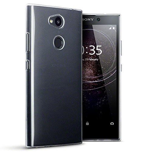 TERRAPIN, Kompatibel mit Sony L2 Cover, TPU Schutzhülle Tasche Hülle Cover für Sony Xperia L2 Hülle - Transparent