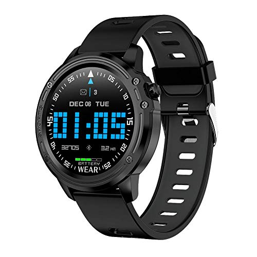 HELLOO HOME L8 Sportuhr Smart Armband Herzfrequenz Touchscreen Uhren