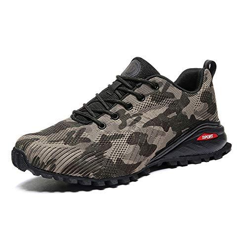 Tasdaker Calzado de Trail Running para Hombre Casual Tenis Asfalto Zapatos Deporte...