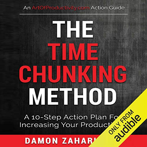 The Time Chunking Method audiobook cover art
