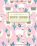 2019-2020 Akademischer Wochen- und Monatsplaner Lama: Terminkalender Organizer, Studienplaner und Notizbuch mit inspirierenden Zitaten August 2019 ... Juli 2020 (Planer Organizer, Band 11) - Planer Ink