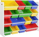 Estantería Infantil para Juguetes Organizador para Juguetes para Niños...