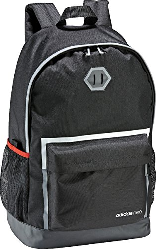 adidas BP S Daily Backpack BQ1308 Mochila tipo casual 47 centimeters 19 Negro (Black)