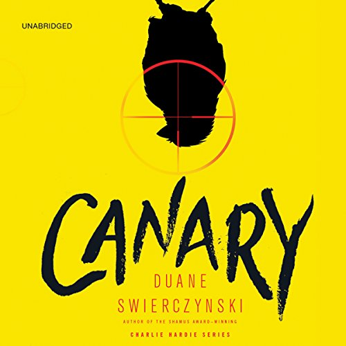 Canary audiobook cover art
