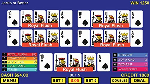 『Multi Video Poker - Multi Hand Casino Games FREE』の5枚目の画像