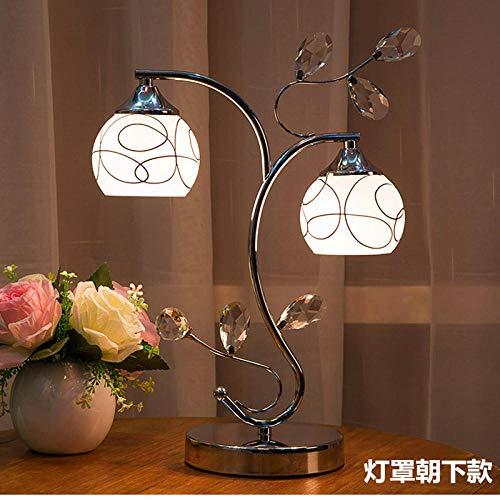 Slaapkamer bedlampje, creatief, modern, nachtdecoratie, glazen bol, LED-tafellamp