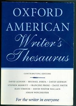 Paperback Oxford American Writer's Thesaurus Book