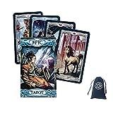 Tarjetas Epic Tarot Tarjeta Oracle Divinación Divinación Entretenimiento Tabla Tablero Deck Games Fiesta Familia Regalo Naipes,Type 2,Tarot Card