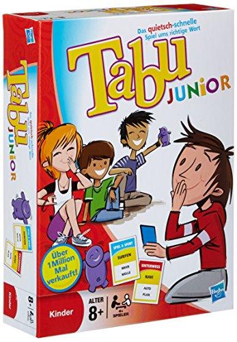 Hasbro Tabu Junior, kindergerechtes Erklärspiel, ab 8 Jahren