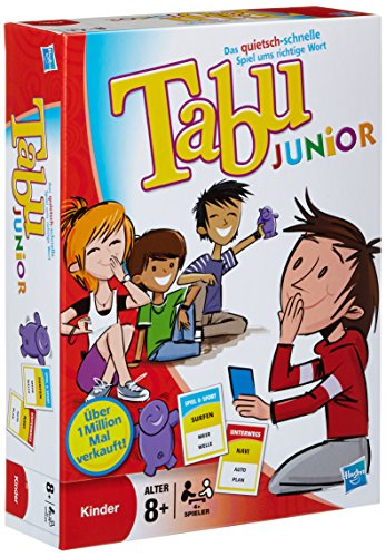 Hasbro 14334100 Versione Tabù Junior 2011 [Importato da Germania]