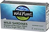 Wild Planet, Sardines Wild Fillets Extra Virgin Olive Oil, 4.25 Ounce