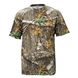 Staghorn Mens All Over Camo Short Sleeve Tee Shirt, Realtree Edge Frame, X-Large