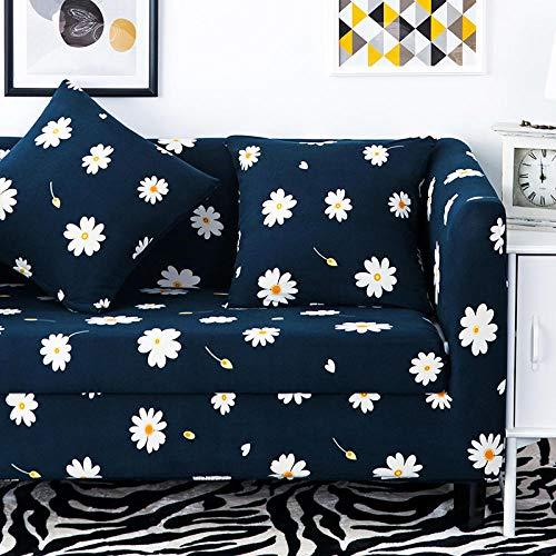 Funda de sofá Elastica,Funda de sofá elástica con patrón impreso, funda de cojín universal para todas las estaciones, funda de sillón antiincrustante para sala de estar, funda de protección para mueb