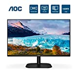 AOC 24B2XH 24' Full HD IPS Monitor, 3-Sided Frameless & Ultra Slim HDMI and VGA inputs, Lowblue Mode, VESA compatible,Black