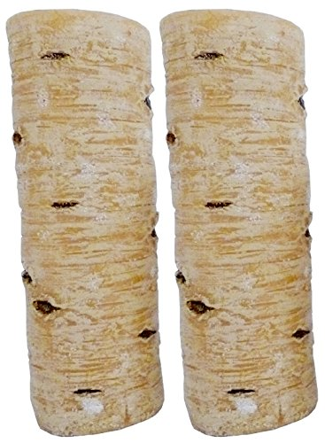 Biedermann & Sons All Wax Birch Style Candle, 3 by 9-Inch, Box of 2