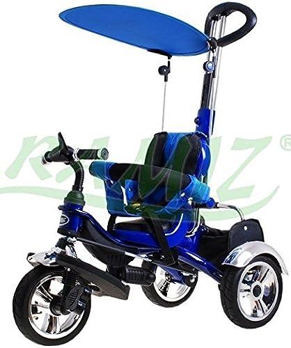 SporTrike Classic Air Kinder Dreirad Kinderwagen - Blau