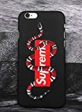 Elizabeth Wilhel SUP x GG Snake Logo iPhone 7/8 Custodia, Custodia Cover Slim Anti Scivolo Custodia...