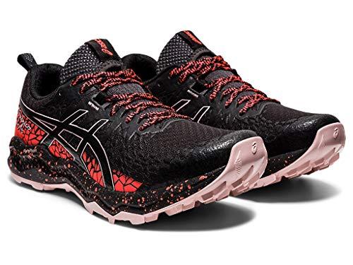 ASICS Women's Fujitrabuco Lyte Running Shoes, 7.5M, Graphite Grey/Black