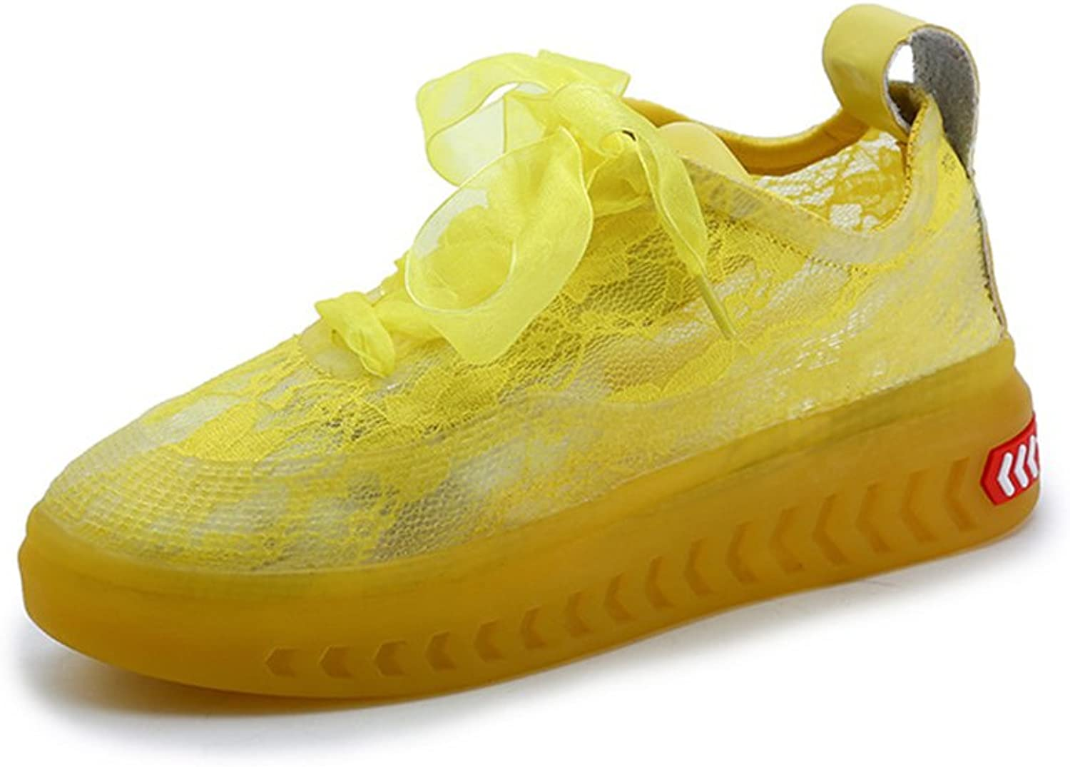Excellent.c Running shoes Lady Balloon Breathable Outdoor Sports Lightweight Cushioning Walking shoes
