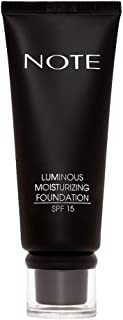 Note Luminous Moisturizing Foundation, 106 Soft Henna, 35 ml