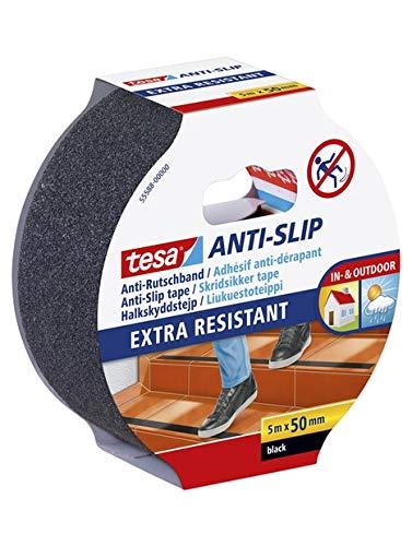 Tesa 55588-00001-00 Antirutschband, Schwarz