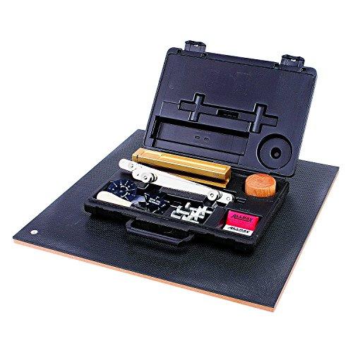 Allpax AX6050 Standard Gasket Cutter Heavy-Duty Cuts 1/4' ID to 61' OD, Black, 18.5 x 18.5 x 3.5