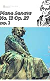 Beethoven Piano Sonata No. 13 in E♭ major, Op. 27 no. 1 sheet music score (Beethoven's piano sonatas) (English Edition)