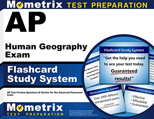 Ap Human Geography Exam Flashcard Study System Ap Test Practice Questions Review For The Advanced Placement