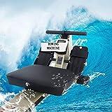 Ruderzugmaschine mit Rudergerät Widerstand Körper Glider Innen Home Ausstattung Bauchbrust Arm Fitnesstraining Ausdauer (Farbe : Mehrfarbig, Größe : Einheitsgröße) - 4