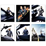 Fast & Furious Hobbs & Shaw Poster Prints – Set von 6