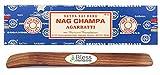 Originale-Satya-Sai-Baba-Agarbatti-Incenso-bastoni arrotolati a mano-fine-qualità usati-per-purificazione-rilassamento-positività-yoga-meditazione con-ebook-salute-ricche-ricco-ricco-nag Champa 100GM