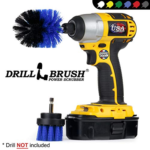 Pool Supplies - Drill Brush - Mini en 2 inch spin-borstel-onderhoudsset - Pool Accessoires - Pool Brush - Slide - vijverfolie - Whirlpool - Wellness - Jacuzzi - Springplank - tapijtreiniger - dekschrobber