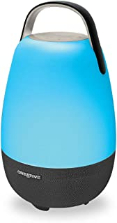 Creative Nova Alexa-Enabled Wi-Fi Multi-Room 5-Driver Portable Smart Speaker with Bluetooth for iOS Devices (MF8285)