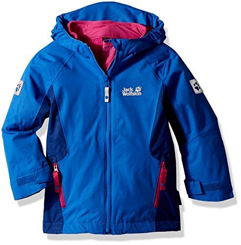 Jack Wolfskin Mädchen G Grivla 3-in-1 Jacket Jacke, Coastal Blue, 164