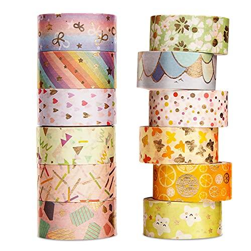Washi Tapes, Cinta Adhesiva Decorativa, Washi Tape Vintage, Suministros para...