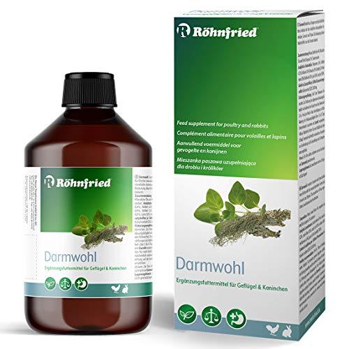 Röhnfried Darmwohl 500 ml | Nahrungsergänzung für Nager, Geflügel & Kleintiere | geförderte Verdauung & erleichterte Aufzucht