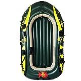 ouyalis Kayak Barcas Hinchables C4 Barco Pirata Doble Kayak Ensanchado Bote Inflable Bote De Goma Bote Engrosado Bote De Pesca