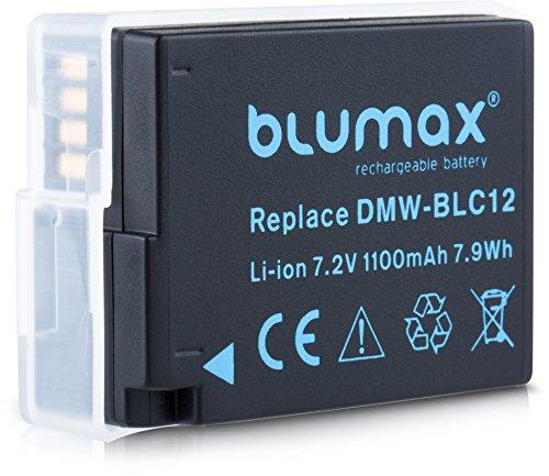 Blumax Akku ersetzt Panasonic DMW BLC12 DMW BLC12 E echte 1100mAh Extra starke Leistung kompatibel mit DMC GX8 G70 G81 G85 G7 G6 G5 FZ2000 FZ2500 FZ1000 FZ200 FZ300