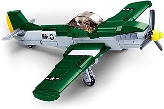 Sluban M38-B0857 Wwii-p-51d Fighter