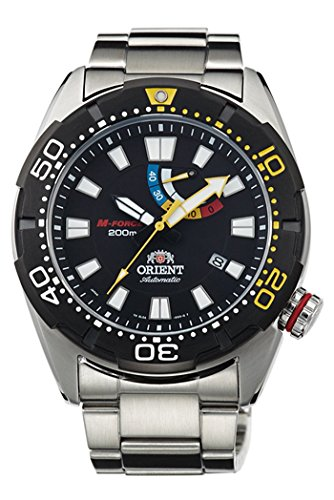 Orient m-Force Bravo Diving Sports Automatik Power Reserve 200 m sel0 a001b