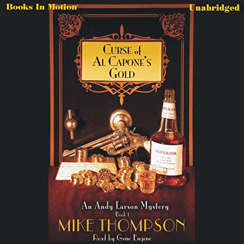 Curse of Al Capone's Gold audiobook cover art