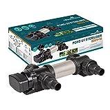 All Pond Solutions SSUV-18 clarificateur/stérilisateur INOX de bassins ou d'étang avec Lampe UV 18W (SSUV-18 / 18W)