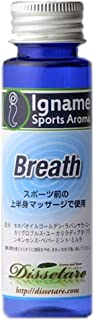 マッサージオイル 呼吸系【イナーメ・スポーツアロマ】 Breath ミントの香り(ホホバオイル100%)追い込み対策【正規品】アロマ オイル
