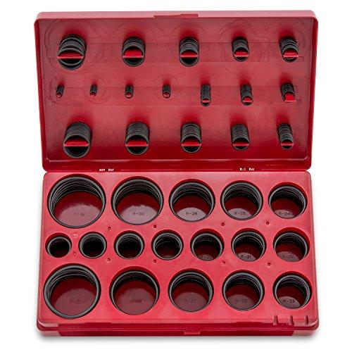 Neiko 50443A Universal O-Ring Assortment | 407-Piece Set | SAE