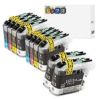 インクのチップス ブラザー用 LC213-4PK 互換インク 4色×2+黒2本セット 計10本